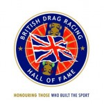 British Drag Racing Hall of Fame logo 100 dpi